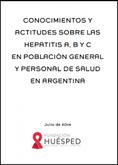 Conocimientos y actitudes sobre las Hepatitis A, B y C
