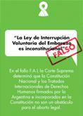 Aclaraciones sobre el proyecto con media sanción de la Ley de Interrupción Voluntaria del Embarazo