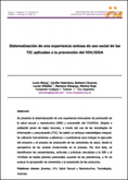 Uso social de las TICs aplicadas a la prevención del VIH/SIDA