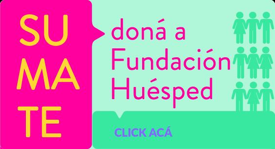 Sumate a Fundación Huésped
