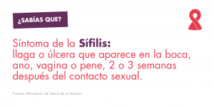 Síntomas de sífilis