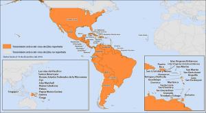 Zonas con zika