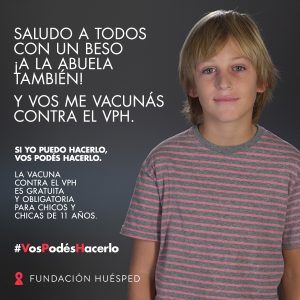 Fundación Huesped - Campaña de Vacunación contra el VPH