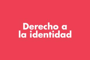 Población Trans Derecho a la identidad