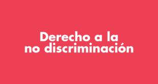Población Trans Derecho a la no discriminación
