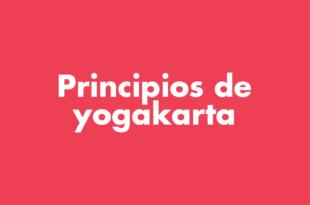 Población Trans Principios de yogakarta