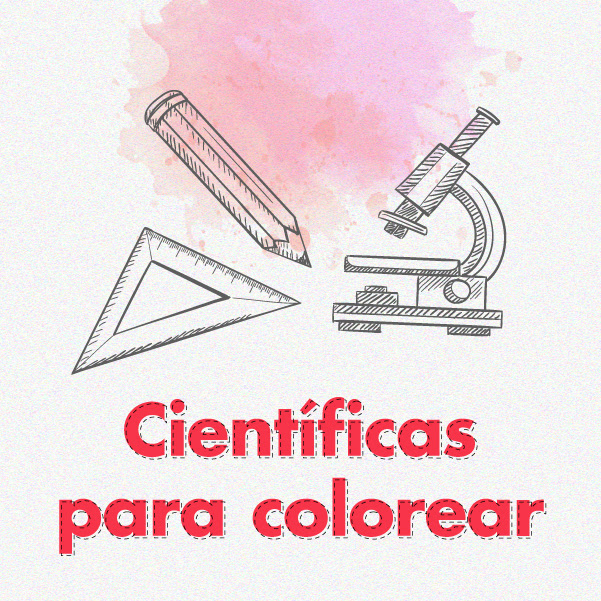 Científicas para colorear
