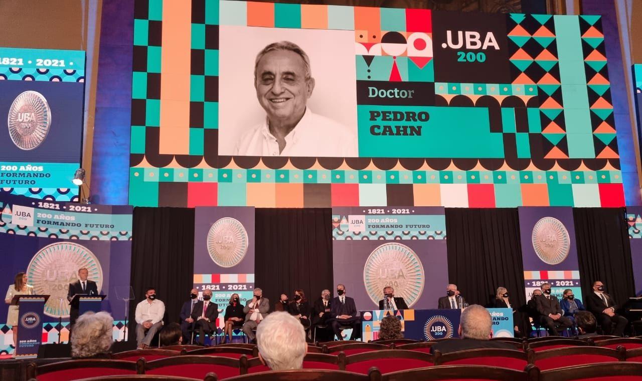 Pedro Cahn UBA