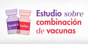 Estudio sobre combinación de vacunas